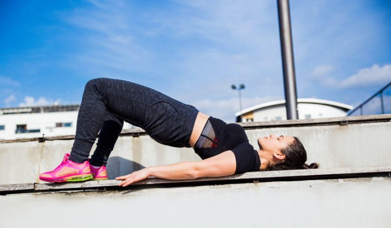 Bridge exercise for bigger butt