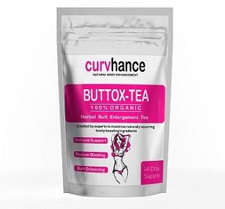 Curvhance 14 Day Buttox Herbal Butt Enlargement Tea