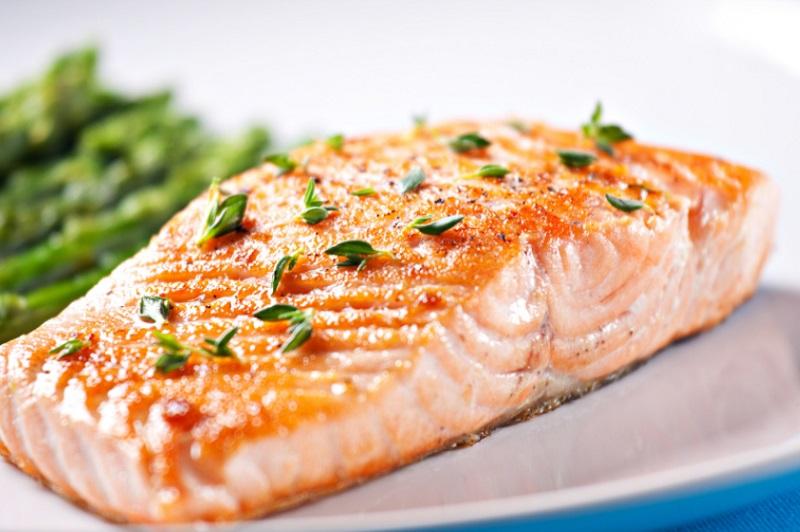 salmon food for bigger bum